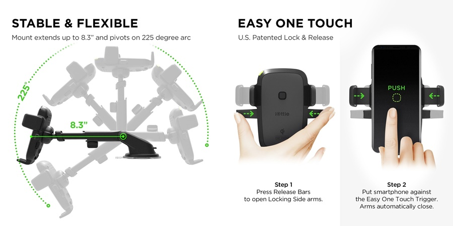 suport auto wireless